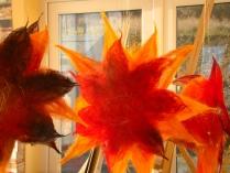 Silk Fibre Stars - Tunde Toth