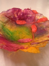 Sculptural Paper Making for adults - Participant`s work (image Tunde Toth)